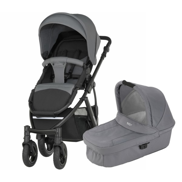 Britax Smile 2 Duo - Steel Grey