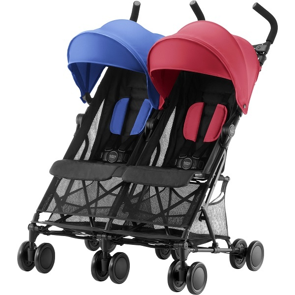 Britax Holiday Double - Flame Red/Ocean Blue