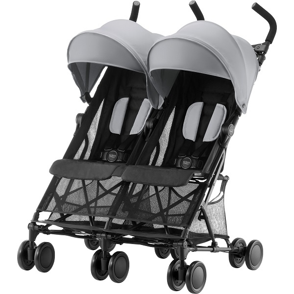 Britax Holiday Double - Steel Grey