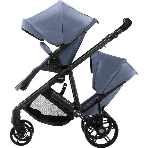 Britax B-Ready Sport Søskenvogn - Blue Denim