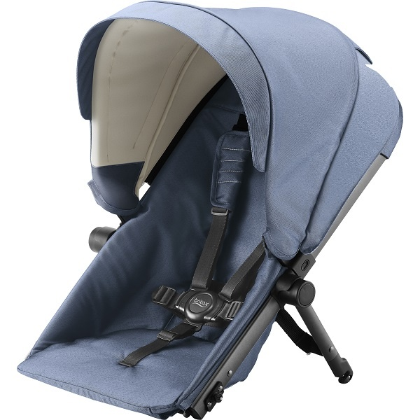 Britax B-Ready Søskensete - Blue Denim