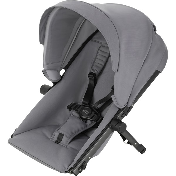 Britax B-Ready Søskensete - Steel Grey