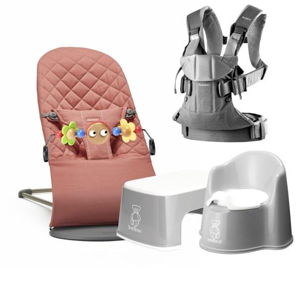 Babybjörn Utstyrspakke - Terracotta Pink