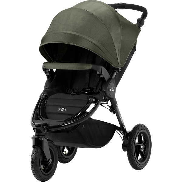 Britax B-Motion 3 Plus - Olive Denim