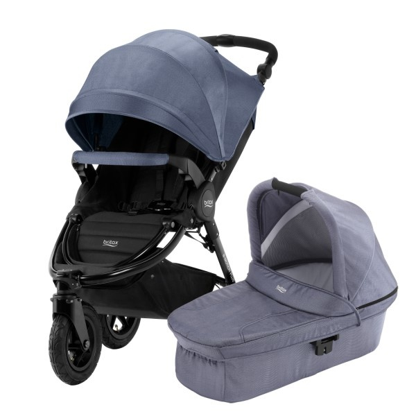 Britax B-Motion 3 Plus Duo - Blue Denim
