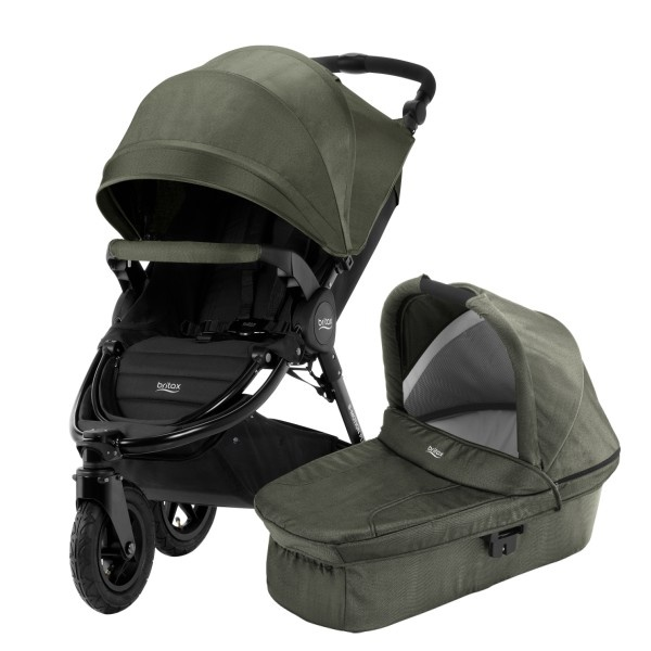 Britax B-Motion 3 Plus Duo - Olive Denim