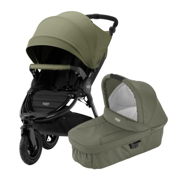 Britax B-Motion 3 Plus Duo - Olive Green