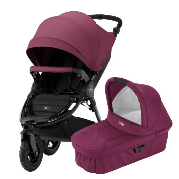 Britax B-Motion 3 Plus Duo - Wine Red
