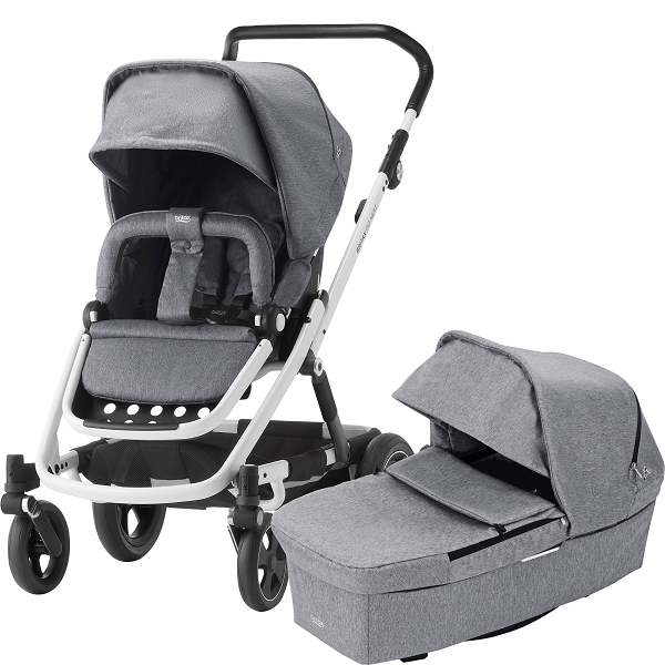 Britax Go Next² Duo - Grey Melange/White