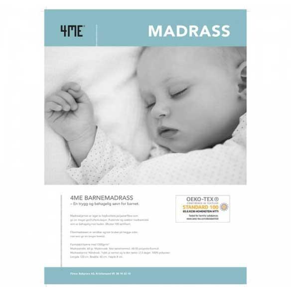 Madrass, Fiber, 4M, 60x120 cm