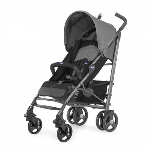 Chicco Liteway Plus, Sort/Grå