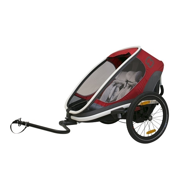 Hamax Outback 2i1 - Red/grey - Plass til 2
