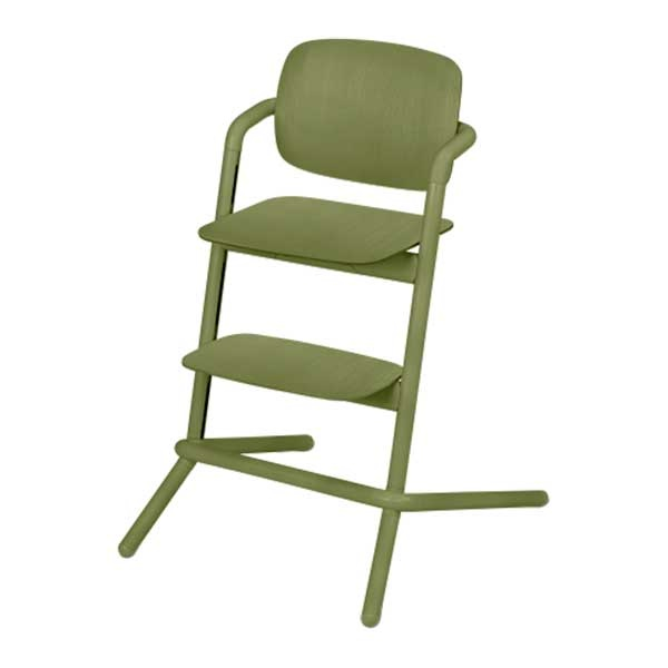 Cybex LEMO chair WOOD (høystol) Outback Green