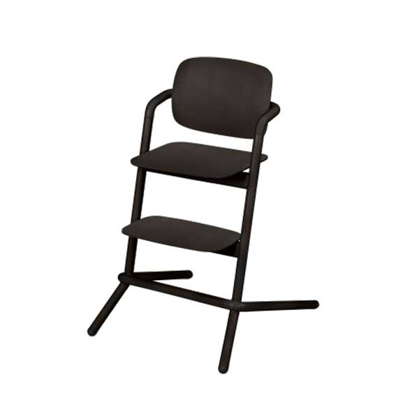 Cybex LEMO chair WOOD (høystol) Infinity Black