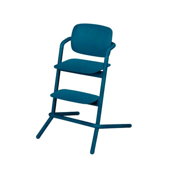 Cybex LEMO chair WOOD (høystol) Twilight Blue