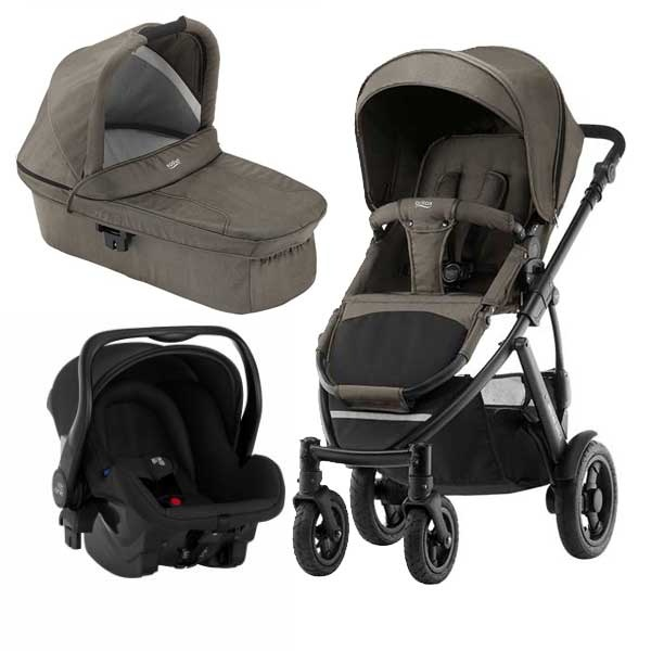 Britax Smile 2 3i1 - Khaki Denim
