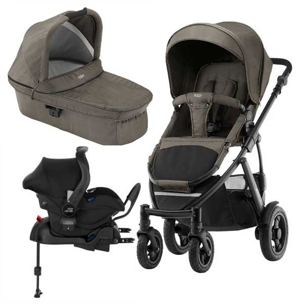Britax Smile 2 3i1 inkl Base - Khaki Denim