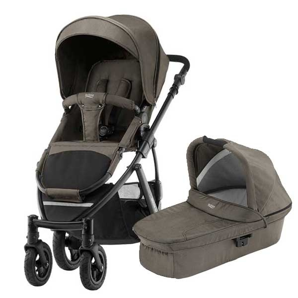 Britax Smile 2 Duo - Khaki Denim