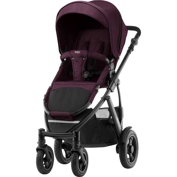 Britax Smile 2 - WineRed Denim