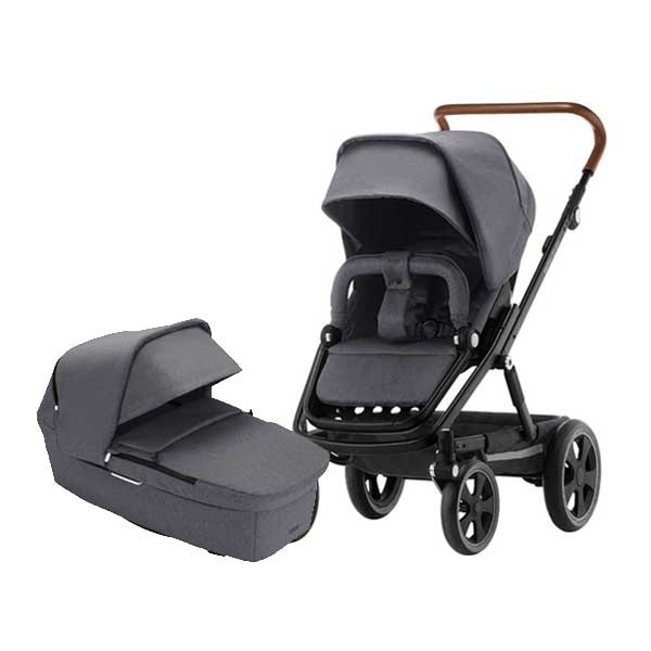 Britax Go Big² Duo - Graphite Melange, Cognac /Black
