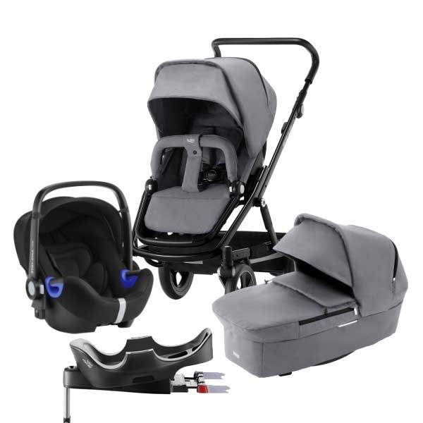 Britax Go Big² 4i1 - Steel Grey/Black