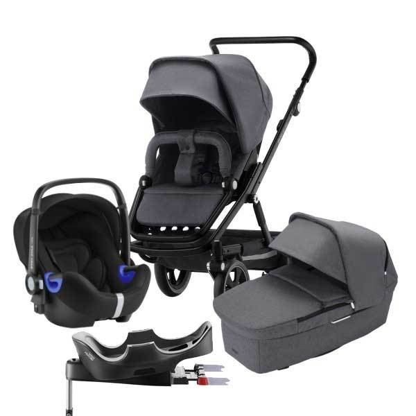 Britax Go Big² 4i1 - Graphite Melange/Black