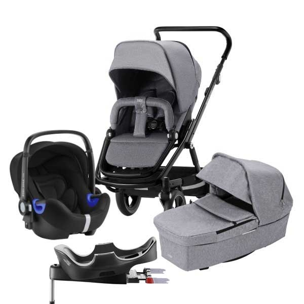 Britax Go Big² 4i1 - Grey Melange/Black
