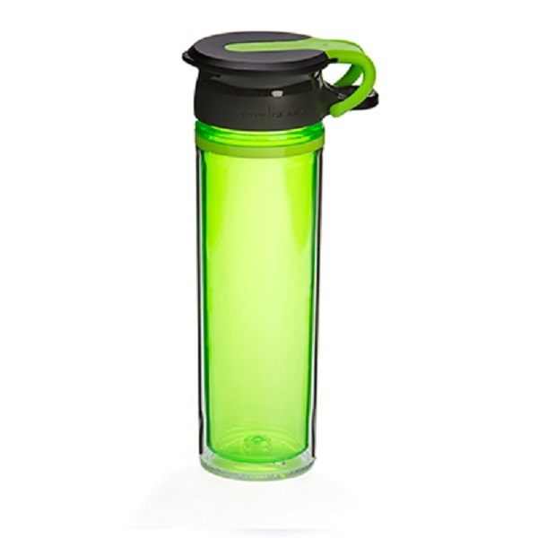 WOW Sportsflaske 600 ml - Green/ Sort