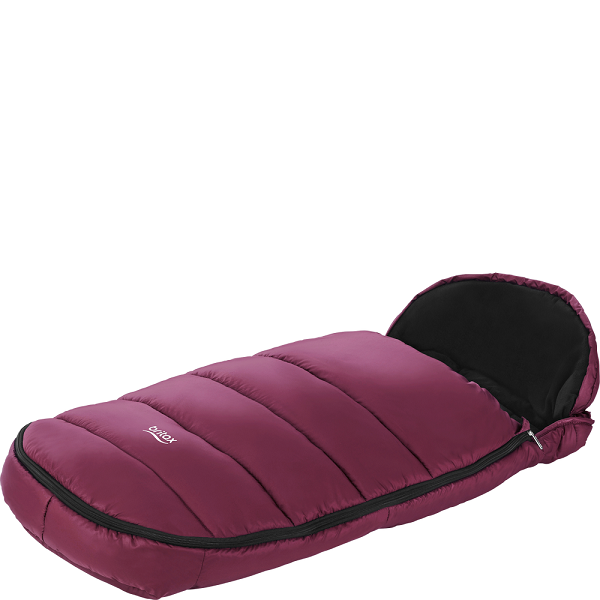 Britax Shiny Cosytoes - Wine Red