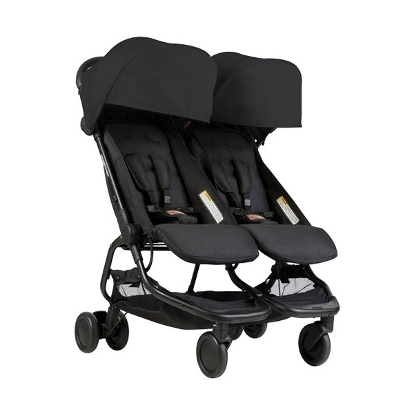 Mountain Buggy Nano Duo - Svart