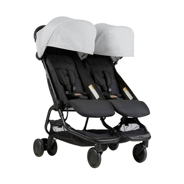 Mountain Buggy Nano Duo - Silver