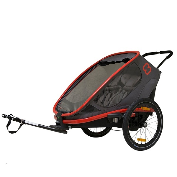 Hamax Outback 2019 - Plass til 2- Red/Charcoal