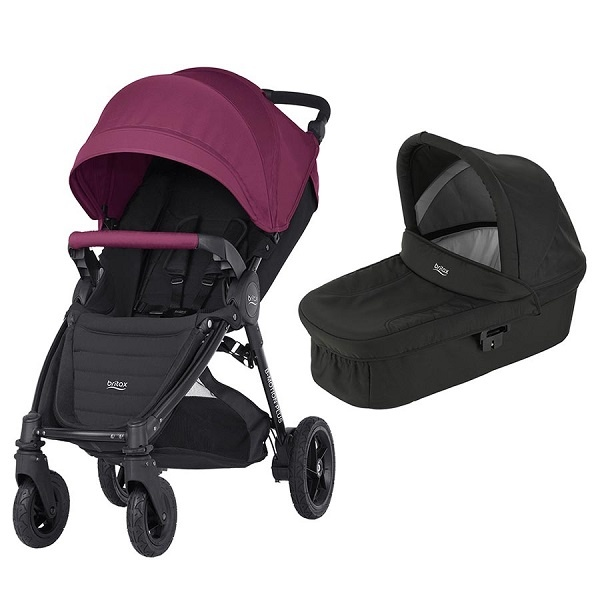 Britax B-motion 4 Plus Duo - Wine Red