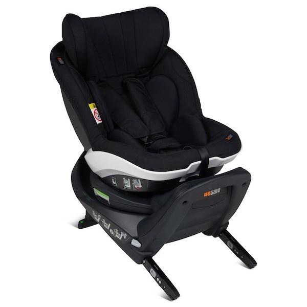 Bilstol, BeSafe iZi Twist i-Sizebilstol småbarnstol- PRISMATCH - Black Cab