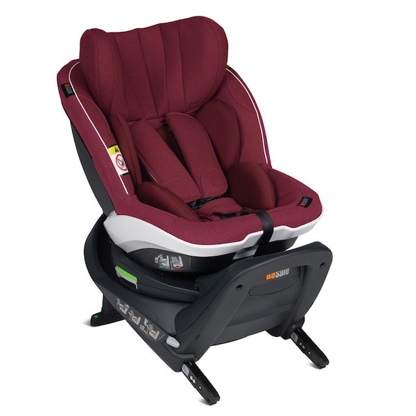 Bilstol, BeSafe iZi Twist i-Sizebilstol småbarnstol- PRISMATCH - Burgundy Melange
