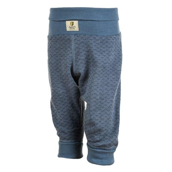 Janus Babywool bukse - blå