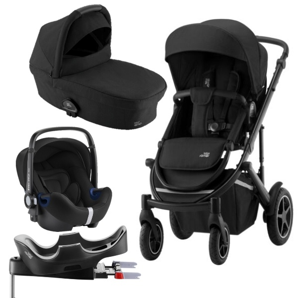 Britax Smile III Travelsystem - Space Black