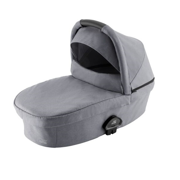 Britax Smile III Bærebag - Frost Grey/Black Handle