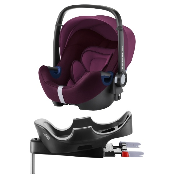 Britax Römer BABY-SAFE² i-SIZE inkl Base - Burgundy Red