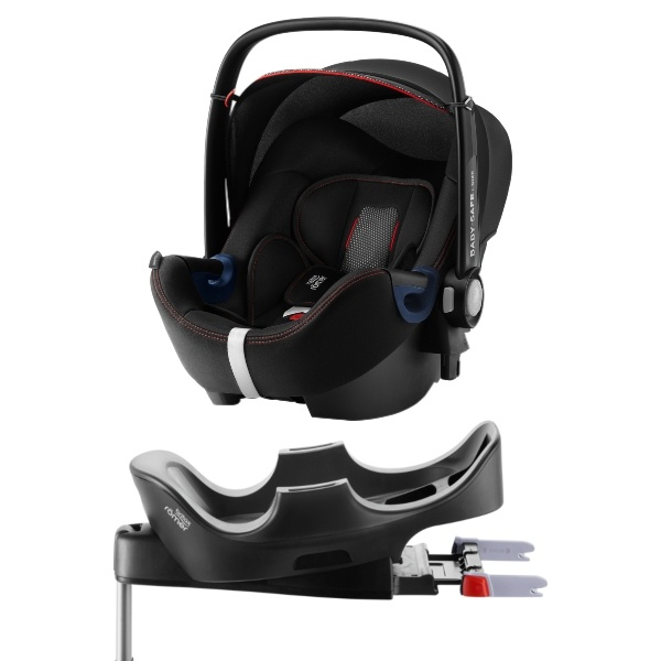 Britax Römer BABY-SAFE² i-SIZE inkl Base - Cool Flow Black