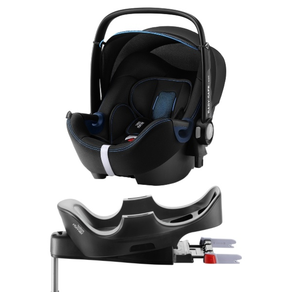 Britax Römer BABY-SAFE² i-SIZE inkl Base - Cool Flow Blue