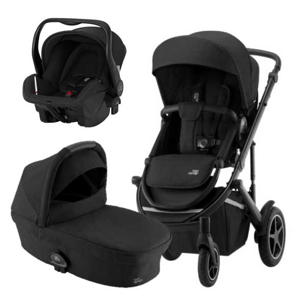 Britax Smile III Travelsystem- Space Black