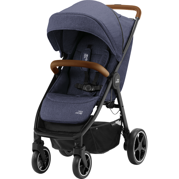 Britax B-Agile R - Navy Ink/Brown