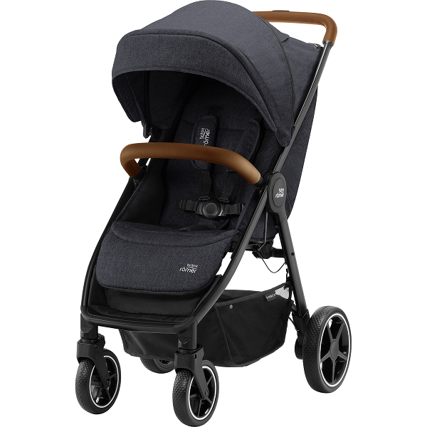 Britax B-Agile R - Black Shadow/Brown