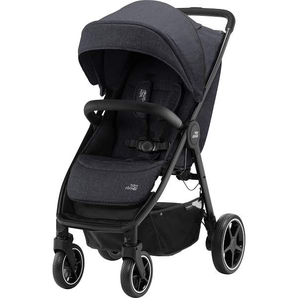 Britax B-Agile R - Black Shadow/Black