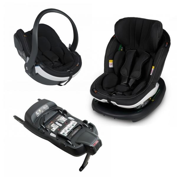 BeSafe iZi Modular X1 3i1 - Premium Car Interior Black