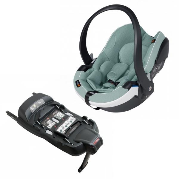 Besafe iZi Go Modular X1 inkl Basebilstol, babybilstol- Sea Green Mélange
