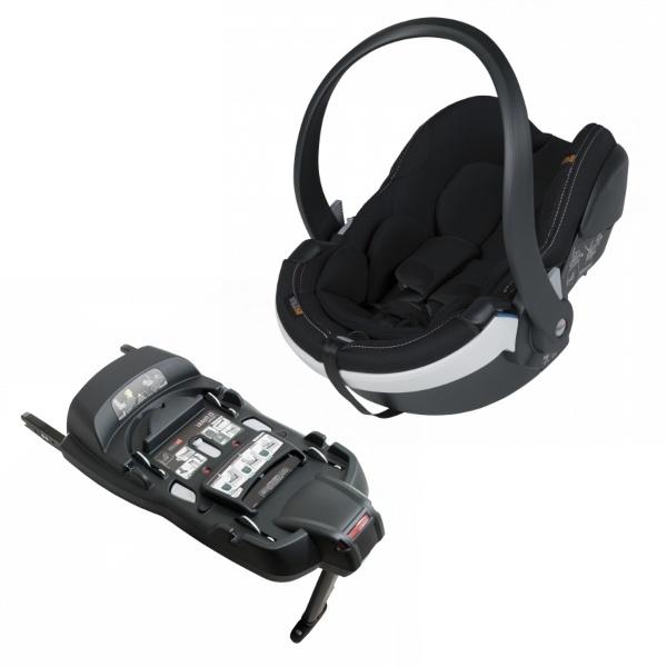 BeSafe iZi Go Modular X1 inkl Basebilstol, babybilstol- Premium Car Interior Black