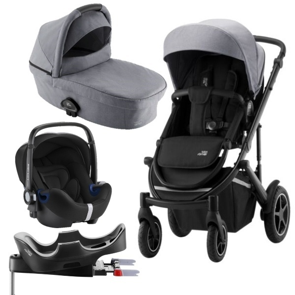 Britax Smile III Travelsystem - Frost Grey/Black