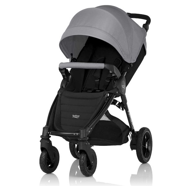 Britax B-motion 4 Plus - Steel Grey